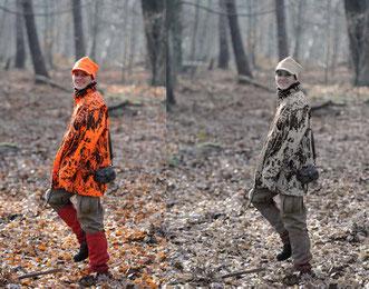 Was wir sehen, entspricht nicht dem, was unser Wild sieht. Schalenwild sieht Rottöne im grünen Bereich. Dadurch bleibt trotz Warnorange die Tarnfunktion erhalten. Foto: Martin Otto