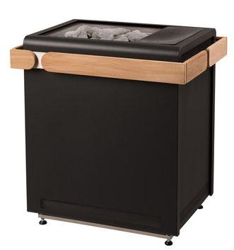 Saunaofen Sentiotec Concept R Combi Black