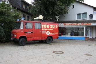 Ladengeschäft Schlossdoktor Schlüsseldienst Schlossnotdienst Einbruchschutz Hamburg