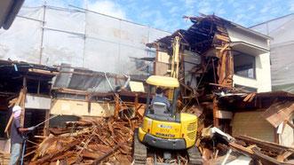 水戸市 木造解体工事