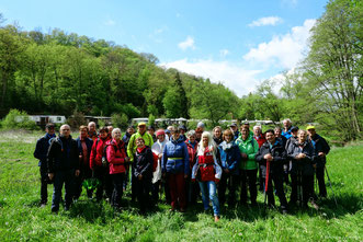 04.05.2019 WWV-Wanderung bei Helmeroth