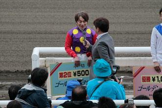 表彰式の模様 (C)Ryota Wakamatsu