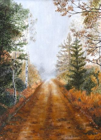 Herbst im Moor I – Beatrix Fleischmann