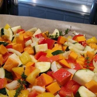 Unser Baby-led Weaning Blog - Rezept für buntes Ofengemüse