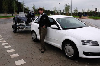 Motorradgespann Transport