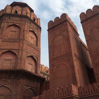 Red Fort Neu Delhi Individualreisen Rajasthan