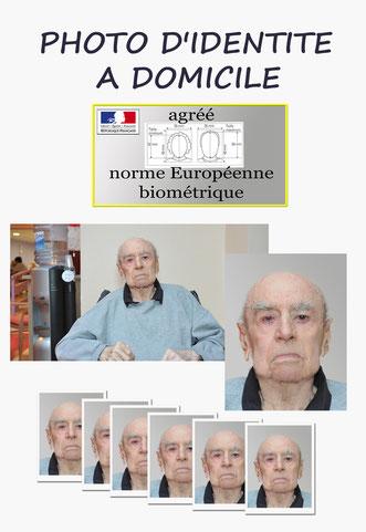panneau de photo identité norme biométrique à domicile