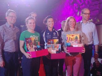 Sabine Drews belegte den ersten Platz bei den Frauen. Herzlichen Glückwunsch!!!