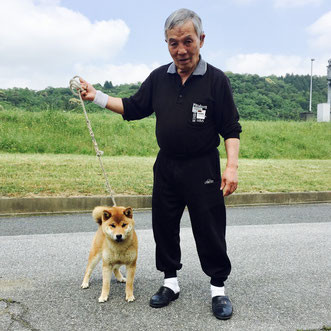 日本犬保存会島根支部長 柳尾様