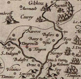 Site internet Cartesius, Namurcum Comitatus, 1612