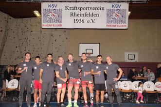 Ein Teil der Meistermannschaft, die den Bezirksliga-Titel 2019 holte.