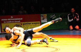 Zumindest ein Einzelsieg gelang Sascha Oswald an seinem Geburtstag gegen den KSV Taisersdorf.