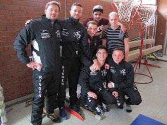 Die 2. Mannschaft vor ihrem Sieg in Kandern
