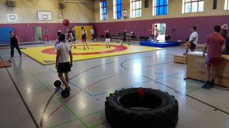 Ein gutes Zirkeltraining bringt Abwechslung im sportlichen Alltag.