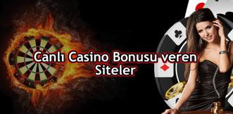 Canlı Casino Bonusu