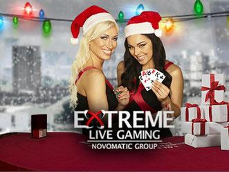 Extreme canlı casino logo
