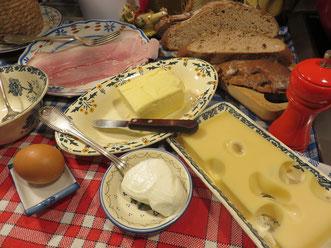Les ingrédients du Croque Mitraille - Canal Gourmandises