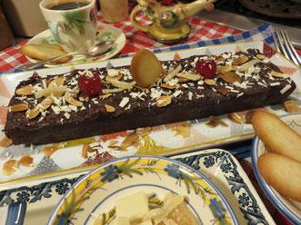 Le cake croustillant au chocolat de la Mère Mitraille