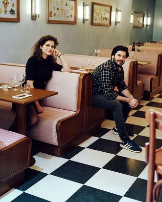 Juliette et Kevin - Brasserie Rosie