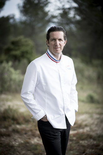 Christophe Bacquié, chef de cuisine tois étoiles au Michelin
