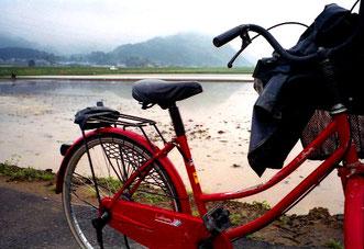 zur Arbeit fuhr man mit dem Rad