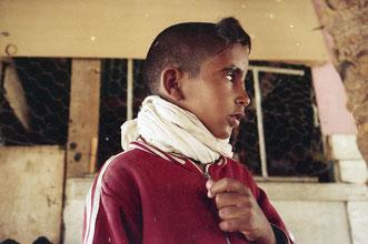 viele der Beduinen-Kinder waren krank und schlecht versorgt