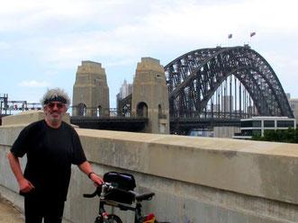 dieses Bild entstand am ersten Tag in Sydney