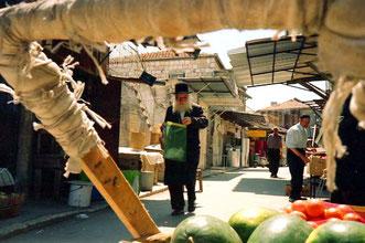 orthodoxe Juden aus Mea Schearim