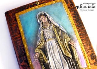 maria modellata a mano regalo per genitori della sposa