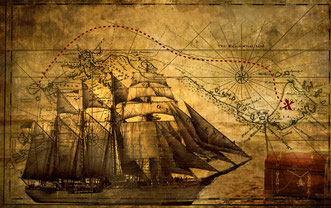 Fantasy Journal a tema pirati, filibustieri, corsari. Regali personalizzati per lui e  amanti del mare!
