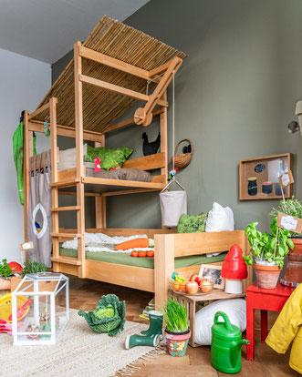 Baumhaus-Bett von DeBreuyn