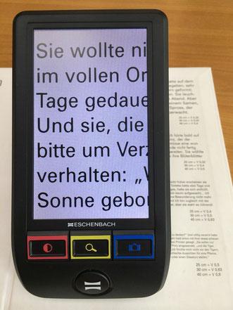 Eschenbach elektronische Sehhilfe