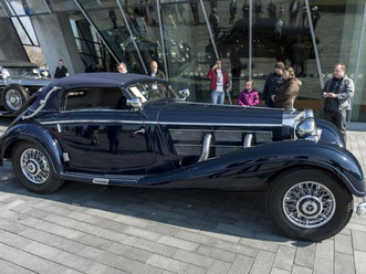 Ein Mercedes-Benz 540K Cabriolet A von 1938 Foto: Daniel Maurer