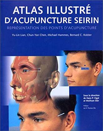 Couverture de l'Atlas Illustré d'Acupuncture Seirin.