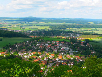 Blick von der Harzer-Höhenstrasse