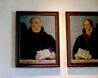 Bildniss von Martin Luther und Melanchton