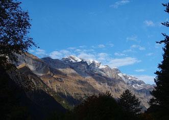 das Hochgebirge wieder im Blickfeld