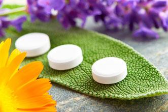 Salbei-Tabletten gegen Körpergeruch