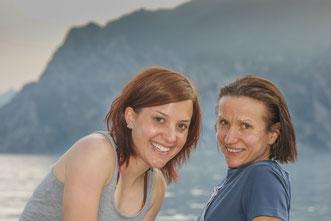 Carina mit Lisa-Maria vor einigen Jahren am Gardasee, eine ihrer Lieblingsgegenden. Dort wollte sie auch heuer im Sommer noch einmal hinfahren. Es war ihr nicht mehr vergönnt.