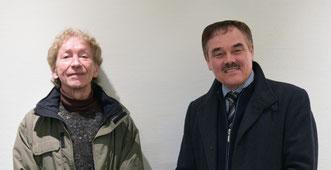 Herr Fred Budweth und Herr Alexander Schäfer, Beide Jugendclub Celle