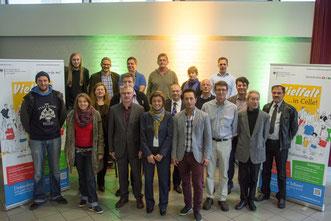 Projektträger 2015 und der Begleitausschuss Foto: Alexander Ahrenhold