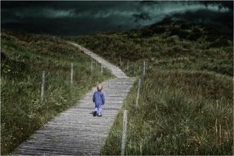"""Luisa Brunders Arbeit """"Einsamkeit"""" gehört mit 23 Punkten in der Altersklasse 1 zu einem der besten Bilder."""