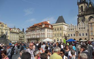 Stadtbesichtigung in der Goldenen Stadt Prag