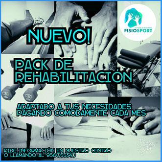oferta rehabilitación fisioterapia osteopatia acupuntura Fisiosport el Puerto de Santa Maria