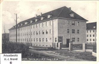 Gebäude der 4. M.G.-Kompanie I.R. 59