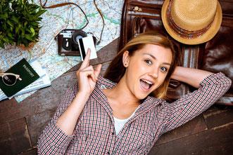Testsieger Kreditkarten für Work and Travel im Vergleich und Reiseversicherungen in Kreditkarten