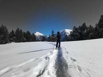 Raquettes à neige Haut-Conflent