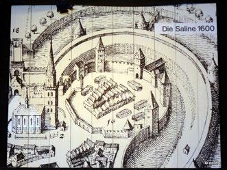 die Saline um 1600