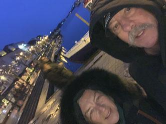 Hafen von Arendal , Norwegen