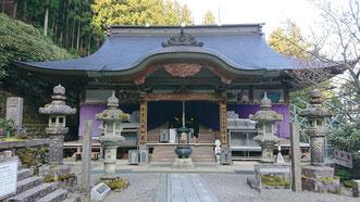 第60番札所 横峰寺 3番目に標高が高く、冬季閉鎖